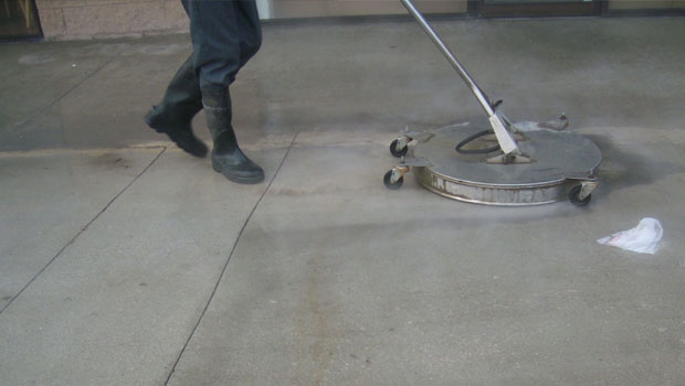 Los angeles power washing alert power washing for Best way to power wash concrete